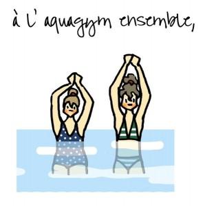 aquagym dessin